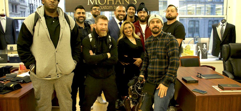Jorge Gamebred Masvidal and crew visit Mohan's