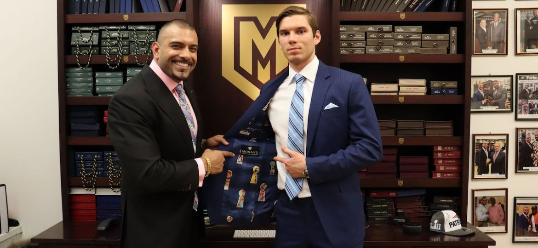 Alexandar-Georgiev_NY-Rangers_Mohans-Custom-Tailors_Bespoke-Process
