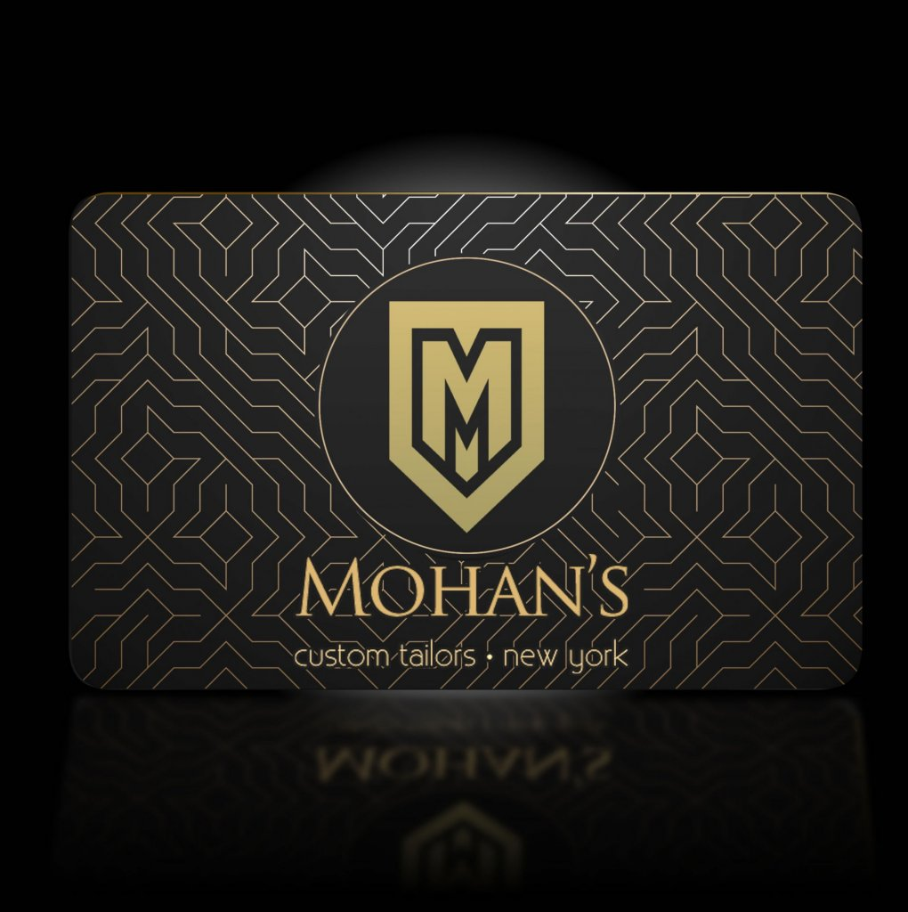 Mohan's Gift Card